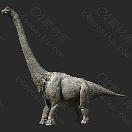 C4素材网-恐龙模型