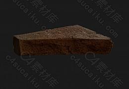 C4素材网-石头石块模型