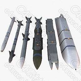 C4素材网-导弹模型