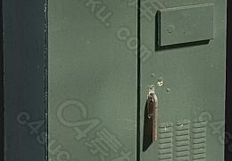 C4素材网-电气箱模型