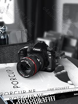 C4素材网-C4D工程-写实摄像机渲染