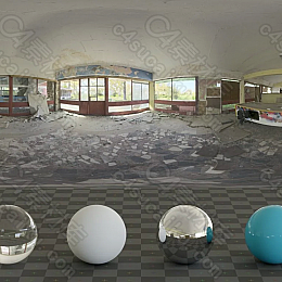 Abandoned Games Room 01