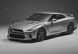 C4素材网-GT-R_R35跑车模型【带内饰贴图】