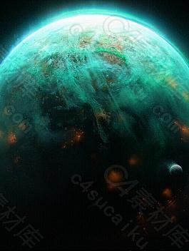 C4素材网-Blender工程-行星包五合一