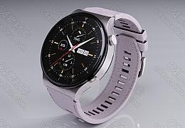 C4素材网-华为手表模型【FBX】