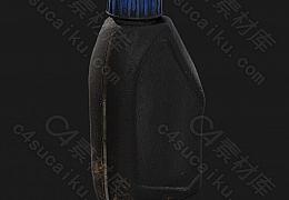C4素材网-脏塑料油箱模型【FBX】