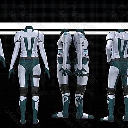 C4素材网-C4D工程-太空服模型