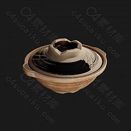 C4素材网-陶瓷模型【FBX】