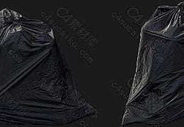 C4素材网-垃圾袋模型【FBX】