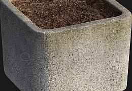 C4素材网-花盆模型【FBX】